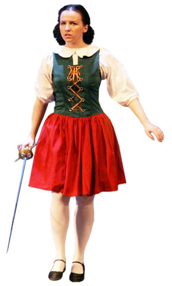 Стилизация: национальное австрийское платье; Рост: 155-165 см; Размер: 44; В комплект входят: платье, фартук...